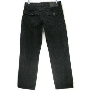 Rocawear Classic Fit Black Jeans Flap Pkts Sz 32